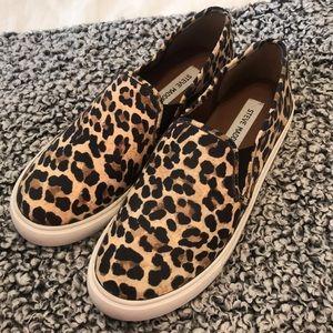 Steven madden NWT cheetah slides size 8